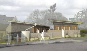 Our most recent rendering of what Compass Crossing (courtesy of OneBuild).