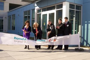 Ronald Commons Ribbon Cutting